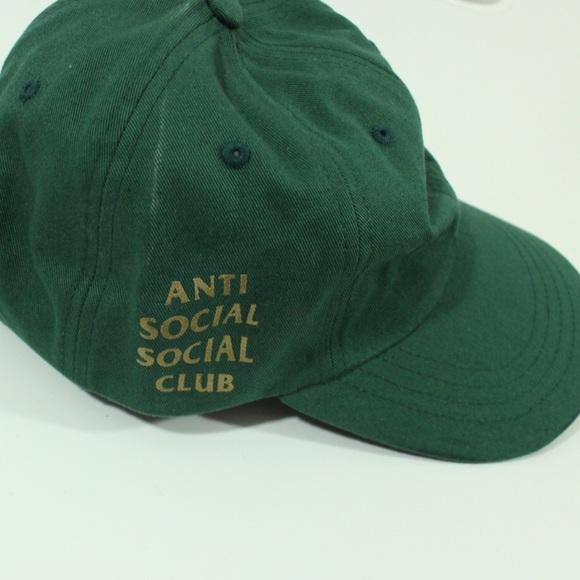 Anti Social Social Club ASSC Spruce Weird Cap Dad ba058f89f5e5